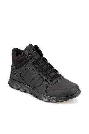 Kinetix Oka Mıd Pu 9pr Siyah Erkek Sneaker Hi 0