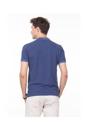 Ramsey İndigo Düz Örme T - Shirt RP10113908 1