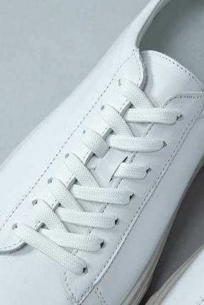 Lufian Slant Deri Sneaker Beyaz 3