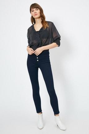 Koton Kadın Mavi Pantolon 0YAK47341DD 0