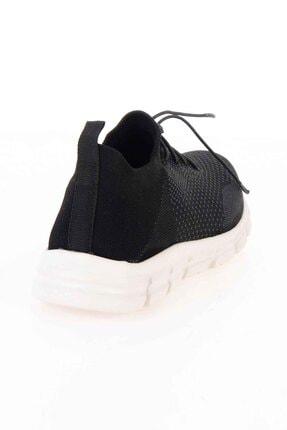 Bambi Siyah Gri Kadın Sneaker K01816027182 2