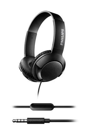Philips SHL3075BK/00  Bass+ Mikrofonlu Siyah Kulaklık 1