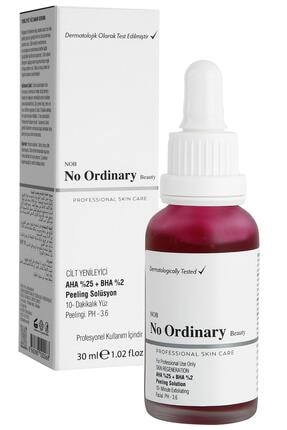 No Ordinary Aha 25%  Bha 2% Cilt Yenileyici Peeling Maske Serum 30 ml 0