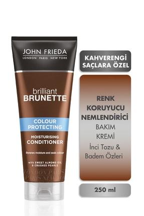 John Frieda Saç Bakım Kremi - Brilliant Brunette Colour Protect 250 ml 5037156227581 0