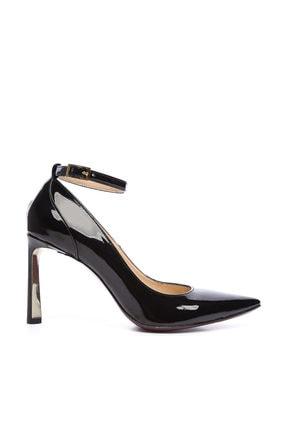 Kemal Tanca Siyah Kadın Vegan Stiletto Ayakkabı 22 2077 BN AYK 2
