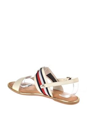 Tommy Hilfiger Kadın Corporate Ribbon Flat Sandalet FW0FW02811 3
