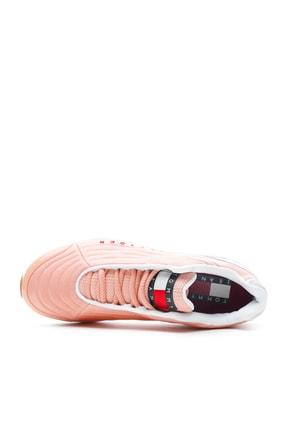 Tommy Hilfiger Heritage Kadın Pembe Spor Ayakkabı EN0EN00662 2