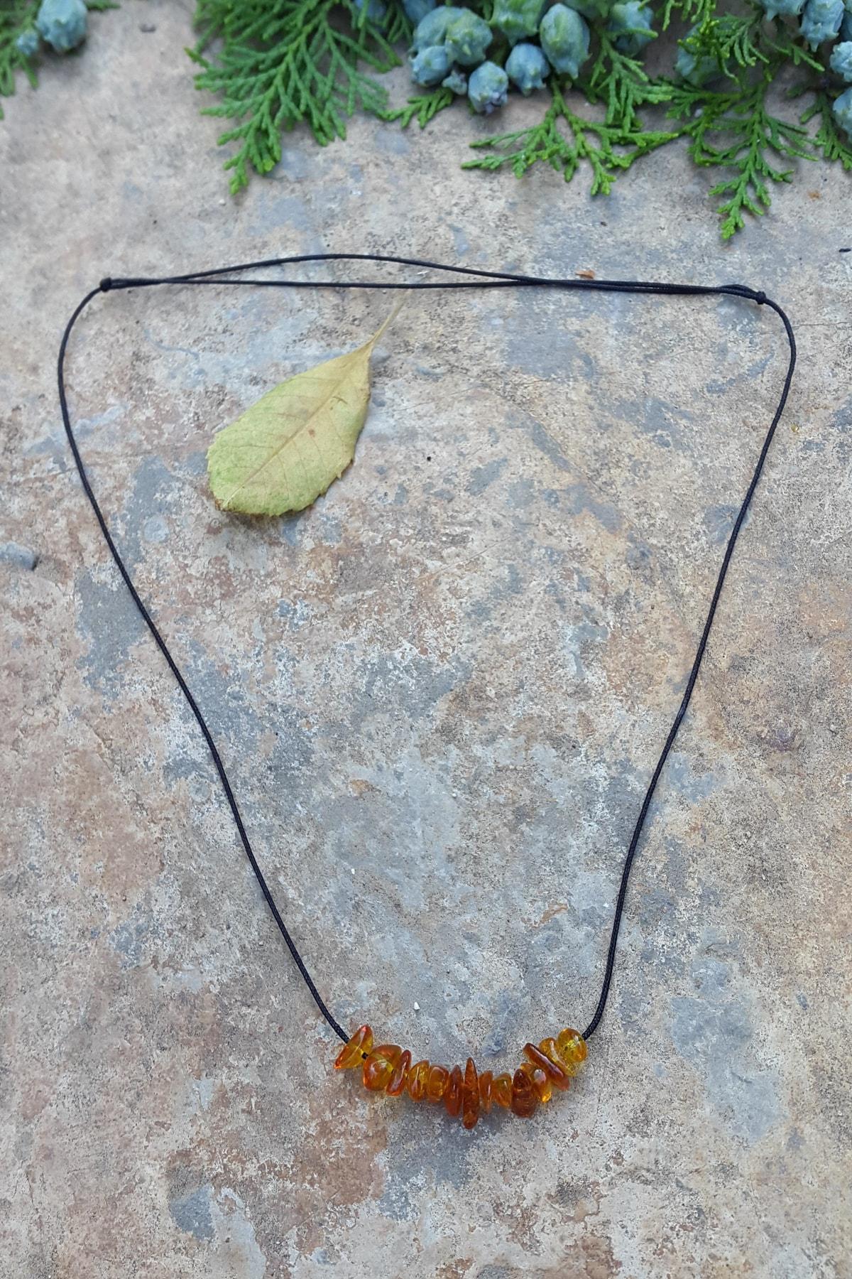 Jewellery Kehribar Antiallerjik Bayan Kolye