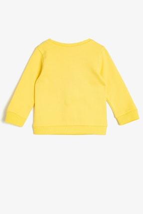 Koton Sarı Kız Bebek Sweatshirt 1