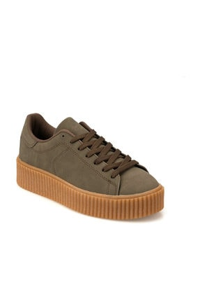 Kinetix KINO 9PR Haki Kadın Sneaker Ayakkabı 100419158 0