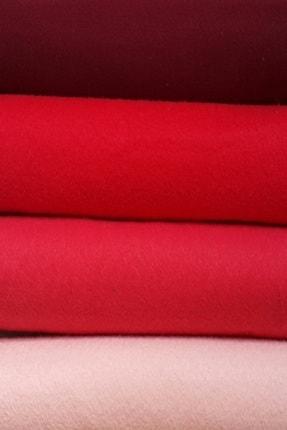 ByOzras Kırmızılı Tonlar İnce Keçe - 4 Renk - 50x50 cm - Hobi Malzemesi 0