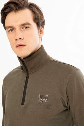 Mcl Giyim Erkek Haki Sweatshirt - 19KE00B26327-23 3