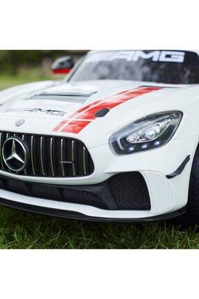 Mercedes Benz Mercedes-Benz Amg Gt4 Sport 12v Kumandalı Akülü Araba 3