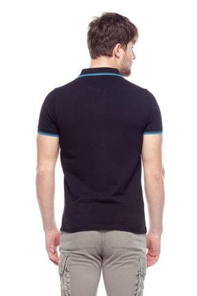 Tena Moda Erkek Siyah Polo Yaka Tişört 2