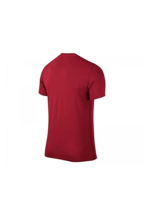 Nike Unisex Çocuk Kırmızı Nike 725984-657 SS YTH PARK VI JSY T-Shirt 1