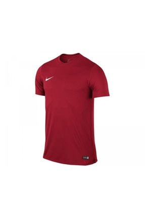 Nike Unisex Çocuk Kırmızı Nike 725984-657 SS YTH PARK VI JSY T-Shirt 0