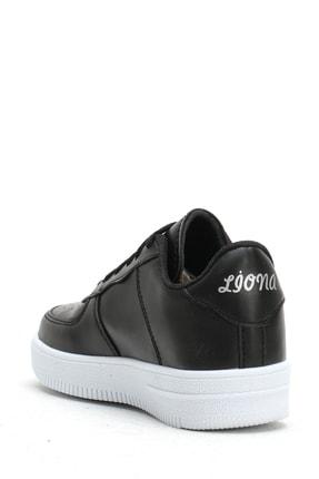 Ayakkabı Modası Siyah Beyaz Kadın Spor Ayakkabı 4000-20-101001 3