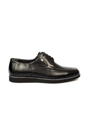 تصویر از 1161 M Bağlı Klasik Siyah Erkek Ayakkabı