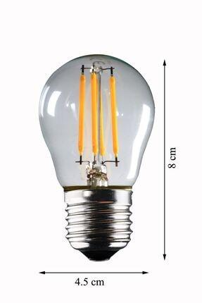 Luzarana E27 G45 6 Watt Gün Işığı Standart Tip Filament Edison Tip Rustik Led Top Ampül (HEKA) 2