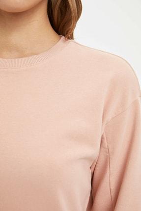 Defacto Modest Relax Fit Basic Sweatshirt 2