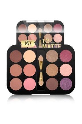 Makeuptime 12 Li Matte Far Paleti 02 0