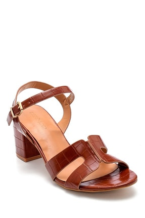 Derimod Kadın Kroko Desenli Sandalet 1