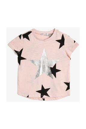 Koton Pembe Kız Çocuk T-Shirt 0YKG17587GK 0