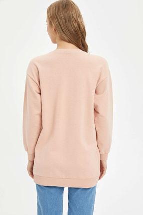 Defacto Modest Relax Fit Basic Sweatshirt 3