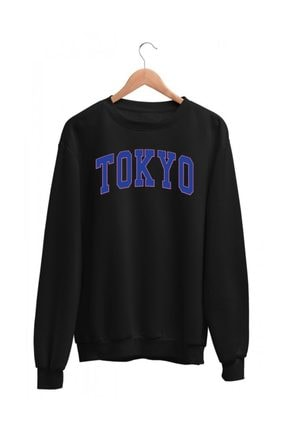 Angemiel Wear Mavi Renkli Tokyo Kadın Sweatshirt 1
