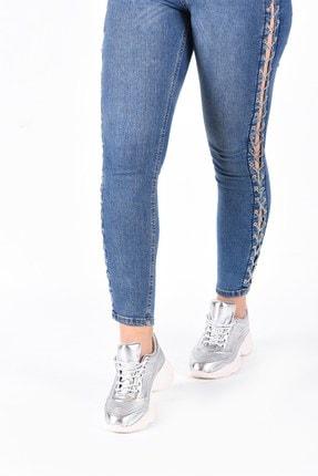 Hammer Jack Kadın Gümüş Sneaker 490 1