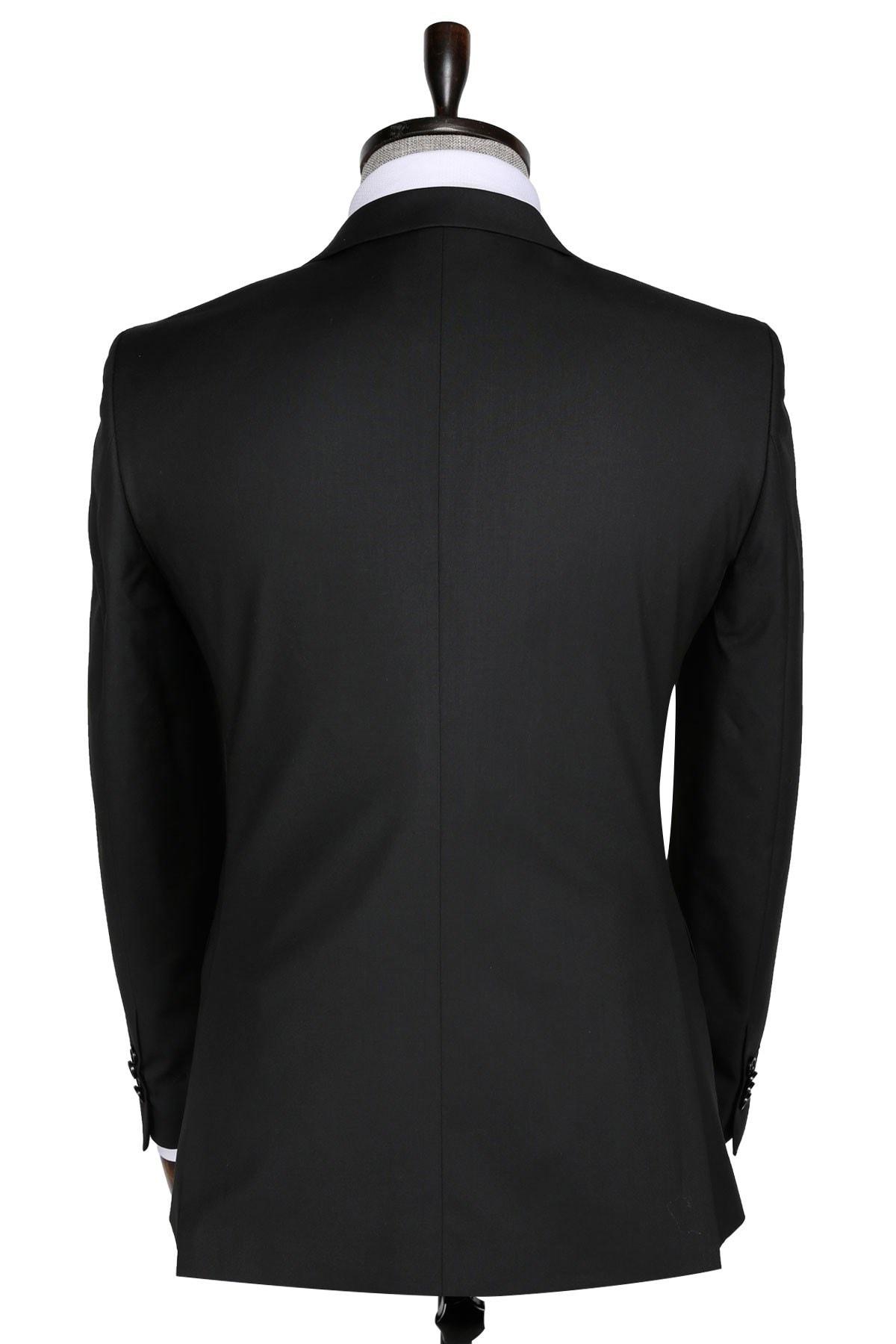 Buenza Slim fit Siyah Erkek Takım Elbise 2