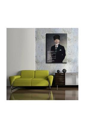 mağazacım Atatürk Takım Elbiseli Portre 50 Cm X 70 Cm Kanvas Tablo Tbl1194 1