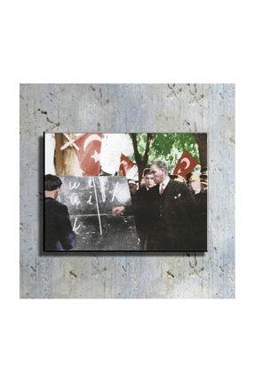 mağazacım Atatürk Harf Devrimi 50 Cm X 70 Cm Kanvas Tablo Tbl1201 1