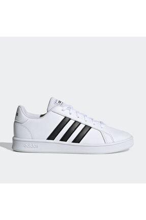 adidas Grand Court Beyaz Erkek Çocuk Sneaker Ayakkabı 1