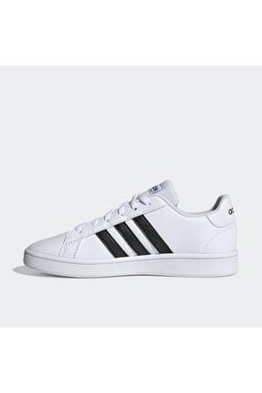adidas Grand Court Beyaz Erkek Çocuk Sneaker Ayakkabı 3