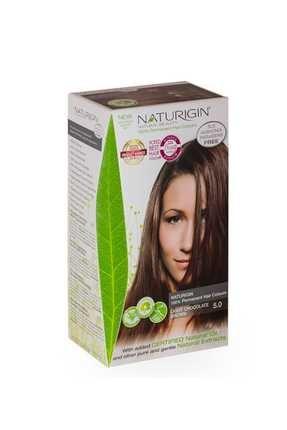 Naturigin Organik İçerikli Saç Boyası 5.0 Açık Çikolata Kahverengi 0