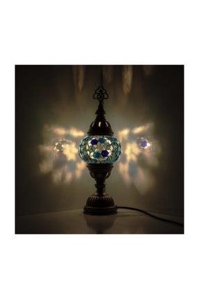Mozaik Lamba Dekoratif Lamba Osmanlı Masa Lambası KRLP00239
