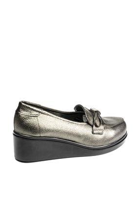 Polaris 92.151039.Z Gümüş Kadın Dolgu Topuklu Ayakkabı 100428480 3