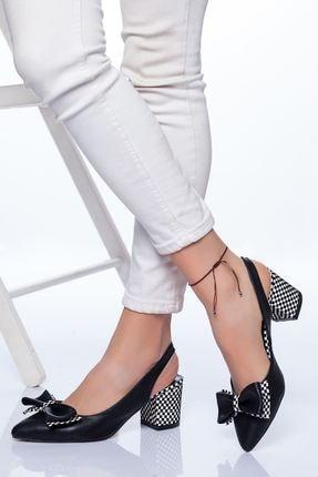 Ayakkabı Frekansı Chano Topuklu Ayakkabı Siyah Cilt 1
