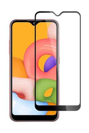 Dijimedia Samsung Galaxy A01 Kılıf Silikon Negro Darbe Korumalı + Tam Ekran Cam Koruyucu 1