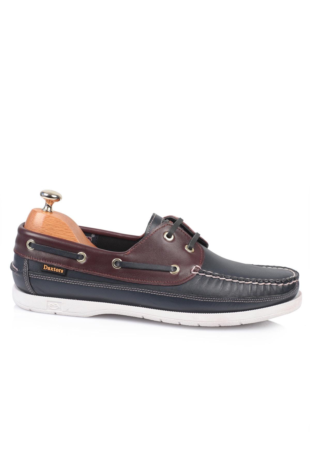Daxtors D815 Günlük Klasik Hakiki Deri Baba Ayakkabısı 2