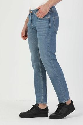 044 Karl Düşük Bel Düz Paça Straight Fit Erkek Jean Pantolon resmi
