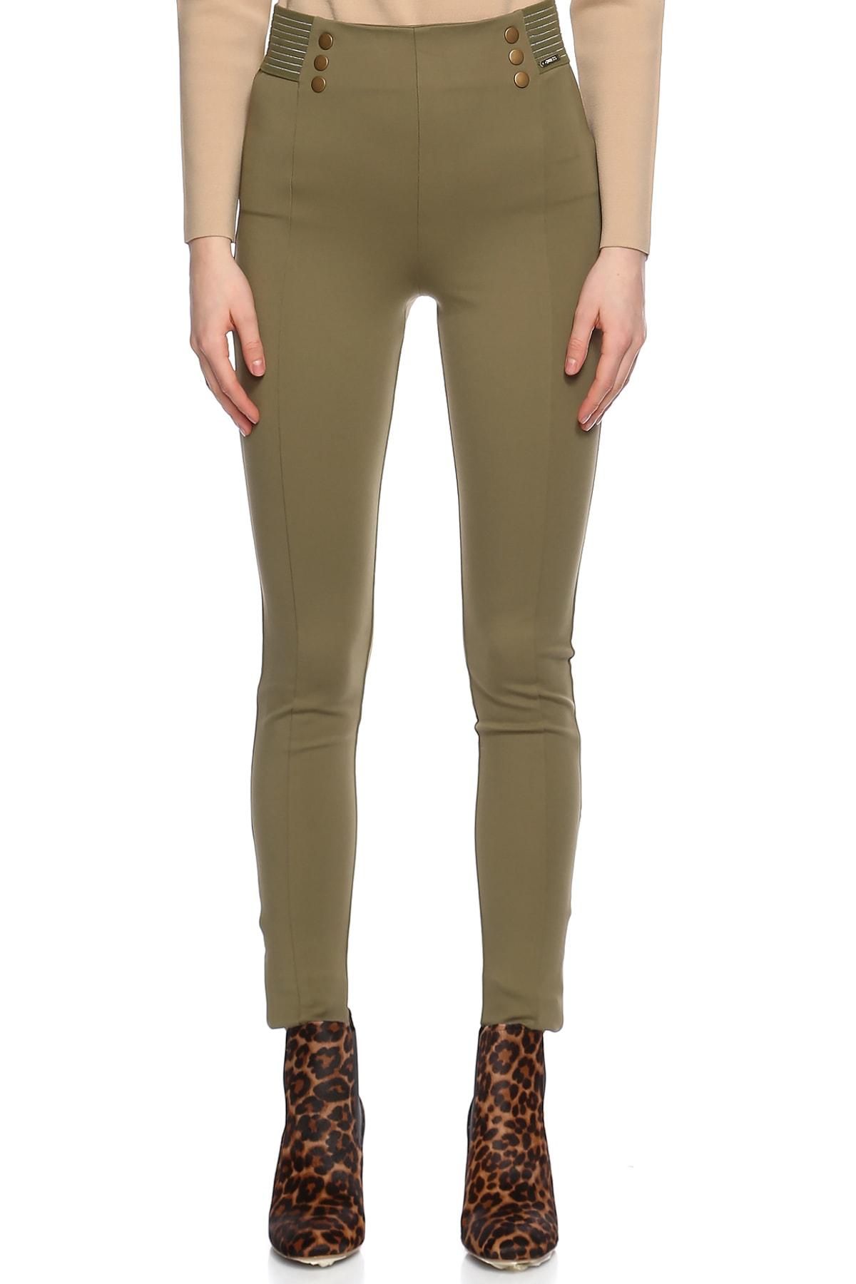 Dar Kesim Yeşil Pantolon