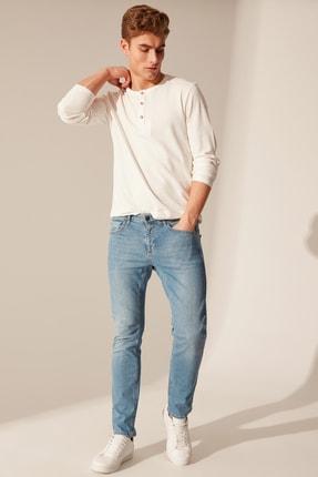 Erkek Açık Rodeo Slım Fit Jeans 0S0155Z8