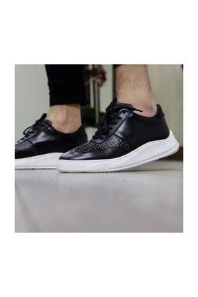 Tetri Erkek Siyah Deri Ayakkabı 0