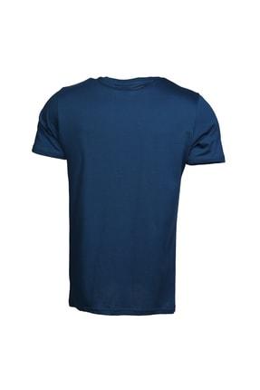 HUMMEL Erkek Spor T-Shirt - Hmlakıra T-Shırt S-S Tee  - M910946-7871 2