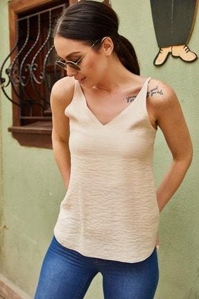 تصویر از Kadın Bej Askili Bluz ARM-17Y00005
