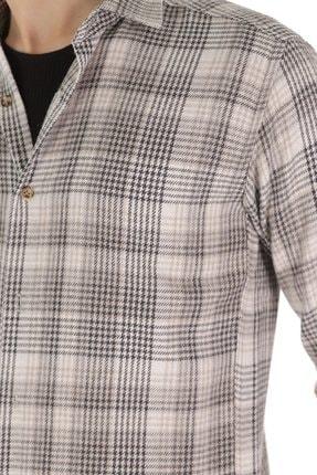 Carlamia Erkek Desenli Uzun Kol Gömlek 4