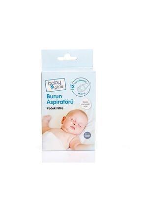 Baby Plus Bebek Burun Aspiratörü Yedek Filtre 12 Adet 0