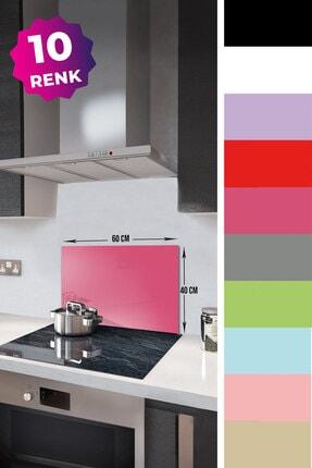 Decorita Düz Renk - Neon Pembe | Cam Ocak Arkası Koruyucu | 40cm x 60cm 1